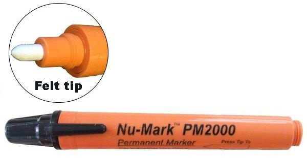 marker with felt tip