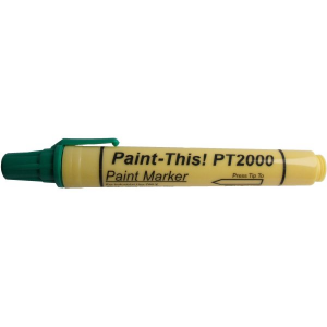 Green paint marker