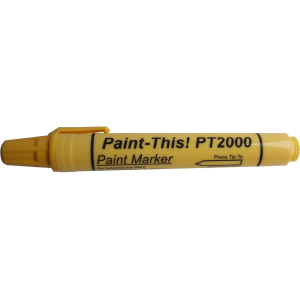 Paint marker, yellow