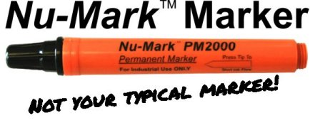 Industrial quality markers for professional use